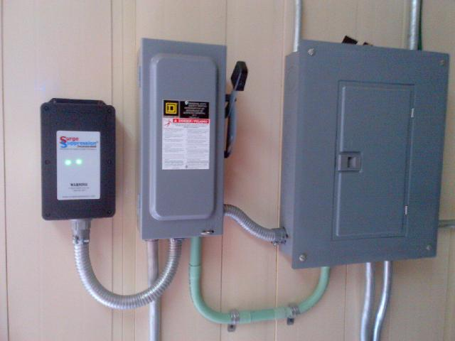 AC Panel and protection system start.