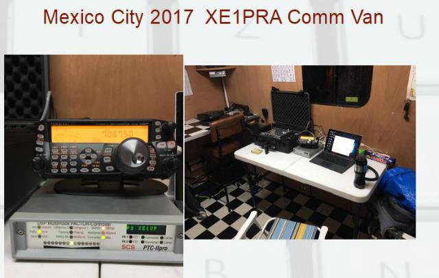 System in XE1PRA comm van