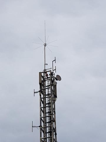 OH2RBV`s vertical for 6m, 40mAGL