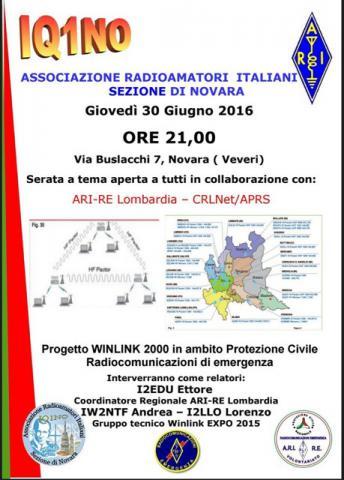 Italian Winlink Symposium Poster