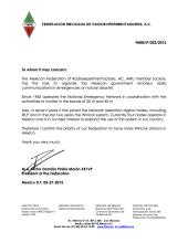 FMRE letter